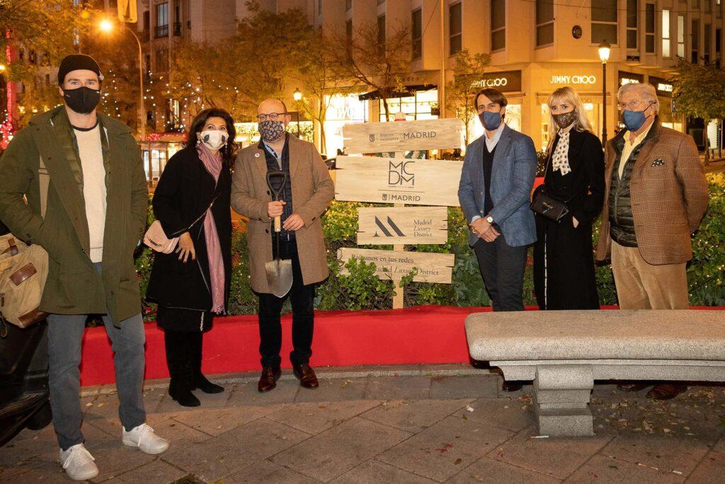 Encendido de Luces de Madrid Luxury District en la Calle José Ortega y Gasset